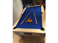 MONARCH SLATE BED POOL TABLE , 6 ft x 3 ft
