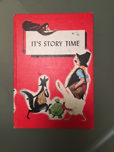 Vintage Children's Reader It's Story Time by McIntosh