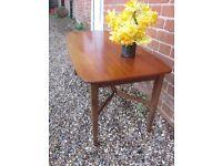 Vintage 60's 70's Teak Coffee TV Table £20