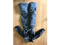 Infants all in one ski jacket and trousers