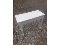 Cream Shabby Chic Hall Table/console
