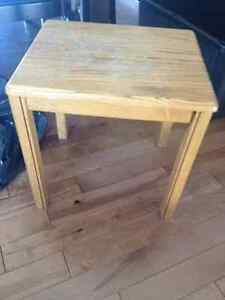 Small end table/side table