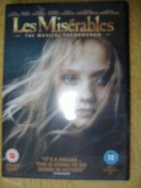 Les Miserables DVD 2013