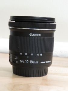 Canon Zoom Lens EFS 10-18 mm IS   1:4.5-5.6 STM