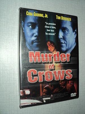 FILM MURDER OF CROWS DVD CUBA GOODING JR TOM BERENGER