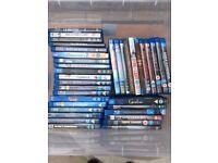 36 Assorted Blu-rays