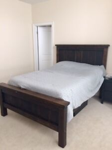 Gorgeous, Solid Wood Custom  Double Bed
