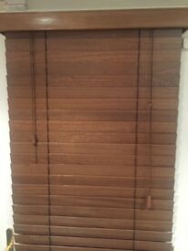 13 sets of beautiful wooden blinds