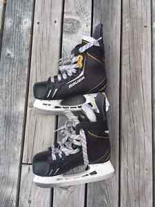Bauer One Elite Hockey Skate size Youth 12