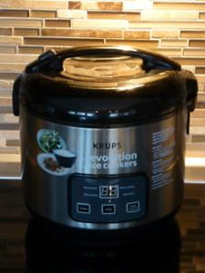 Krups Rice Cooker with Slow Cooker and Steamer***NOW $15***