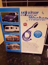car washer.wizard car washer boxed