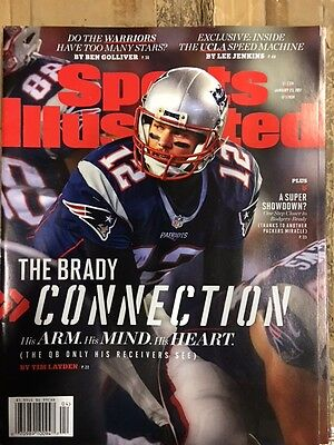 January 23, 2017 Tom Brady New England Patriots Sports Illustrated NO LABEL