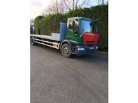 iveco eurocargo 18 ton scaffold lorry 2006