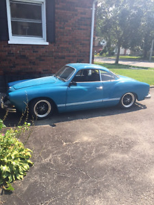 1967 VW Karmann Ghia coupe! A real head-turner! LOW KMs!