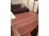 170x240cm good condition Ikea rug