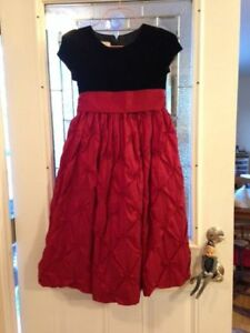 Christmas Girls dresses, size 10