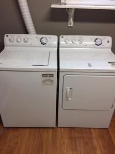 GE Washer and Dryer for sale