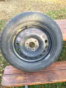 "17"" Steel Snow Tire Rims Cambridge Kitchener Area image 1"