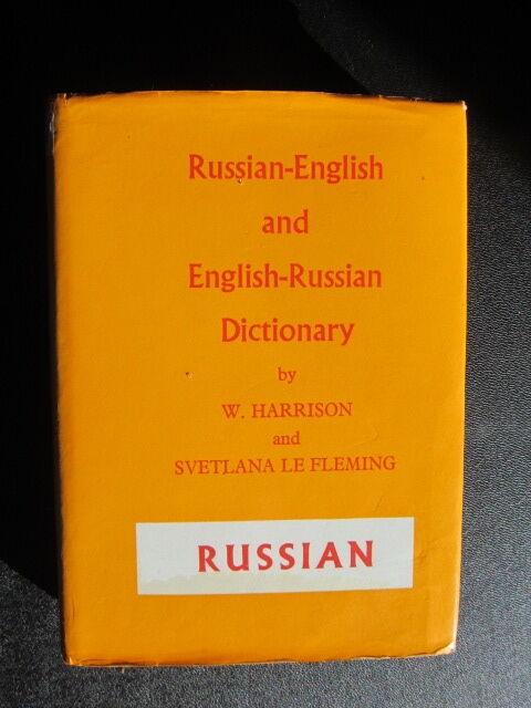 Russian-English & English- Russian dictionary by W.Harrison & Svetlana le flemin