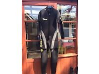 Diving Suit with accessories