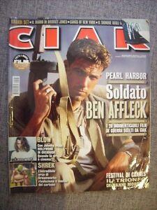 CIAK-N-6-2001-BEN-AFFLECK-IL-SIGNORE-DEGLI-ANELLI-JOSH-HARTNETT-SHREK-WEISZ