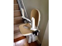 Acorn 130 Straight Stair lift for sale Excellent as new condition