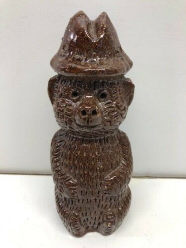 "Super Sewer Tile ""Smokey Bear"" Figure Signed, Good Hand Detail"