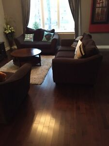 Moving 3 piece couches. perfect condition smoke and pet free