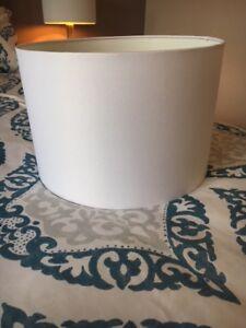 Brand new Bouclair Lamp Shade (White)