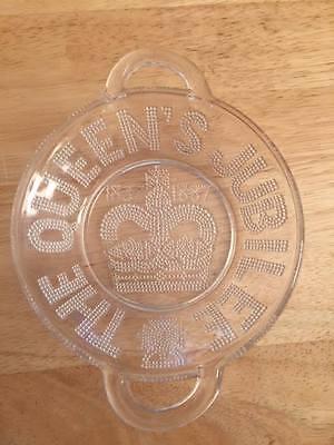 Queen Victoria's Jubilee Commemorative Glass Dish