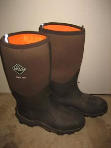 The Original MuckBoots Adult Wetland Boot Size 12