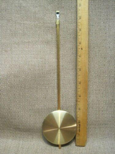 Vintage Wall Clock Metal Pendulum