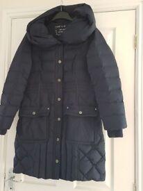 Per Una navy padded coat (size medium)