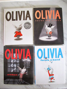 Olivia hardcover picture books