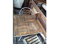 Garden furniture set 9 pieces