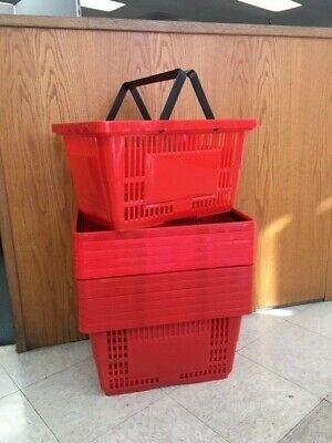 Shopping Baskets Jumbo Size Set Of 12
