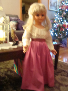 WALKING DOLL 31 INCHES TALL