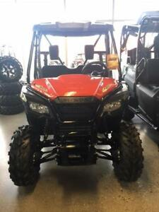 2017 HONDA PIONEER 500 WITH ACCESSORIES