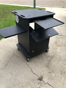 Stereo cabinet or workstation