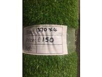 Artificial grass remnant - 3.70x4m - £150