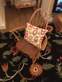 Small authentic Ercol rocking chair