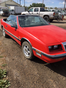1988 Chrysler Lebaron CONVERTIBLE turbo charged
