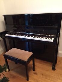 Piano and made-to-measure stool to match