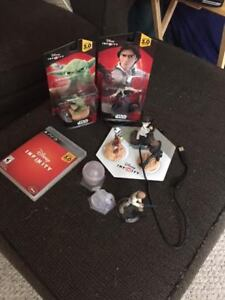 PS3 Disney Infinity Game + Expansion Figures