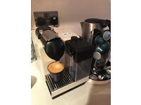 Nespresso's DeLonghi Lattissima+ Pearl White Coffee Machine