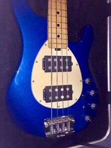 ERNIE BALL MUSICMAN STERLING BASS GUITAR-Immaculate Condition Cooroibah Noosa Area Preview