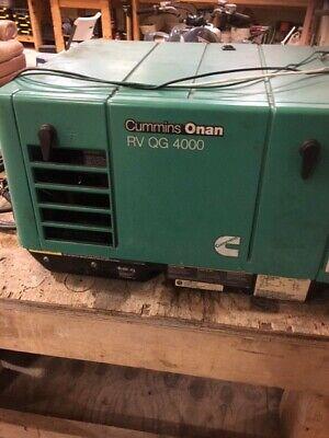 Cummins Onan Rv Qg 4000 Watt Generator Rv Motorhome Generator