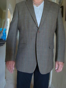 """RALPH LAUREN"" MEN'S ALL SEASON WOOL BLAZER SIZE 44 L"