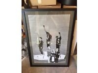 HUGE 1968 Olympics Tommie Smith BLACK POWER print Professionally framed for sale.