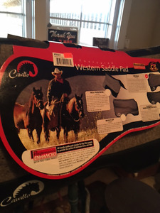 Total Comfort System Western Saddle Pad